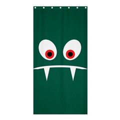 Angry Monster Shower Curtain 36  X 72  (stall)  by linceazul