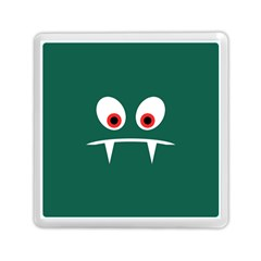 Angry Monster Memory Card Reader (square)  by linceazul