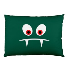 Angry Monster Pillow Case (two Sides) by linceazul