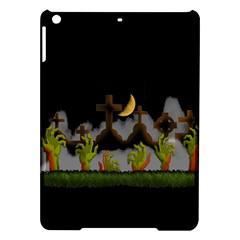 Halloween Zombie Hands Ipad Air Hardshell Cases by Valentinaart