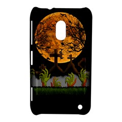 Halloween Zombie Hands Nokia Lumia 620 by Valentinaart