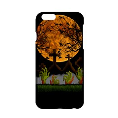 Halloween Zombie Hands Apple Iphone 6/6s Hardshell Case by Valentinaart