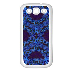 Plutonium Circuit Samsung Galaxy S3 Back Case (white) by MRTACPANS