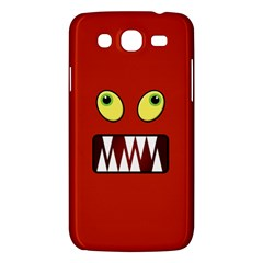 Funny Monster Face Samsung Galaxy Mega 5 8 I9152 Hardshell Case  by linceazul
