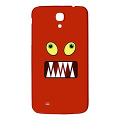 Funny Monster Face Samsung Galaxy Mega I9200 Hardshell Back Case by linceazul