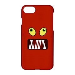 Funny Monster Face Apple Iphone 7 Hardshell Case by linceazul