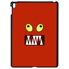 Funny Monster Face Apple Ipad Pro 9 7   Black Seamless Case by linceazul