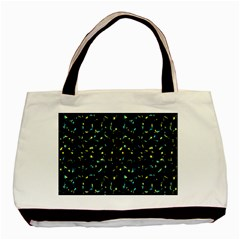 Splatter Abstract Dark Pattern Basic Tote Bag (two Sides) by dflcprints