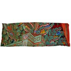 Traditional Korean Painted Paterns Body Pillow Case (dakimakura) by Onesevenart