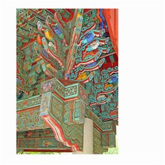 Traditional Korean Painted Paterns Large Garden Flag (two Sides) by Onesevenart