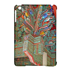 Traditional Korean Painted Paterns Apple Ipad Mini Hardshell Case (compatible With Smart Cover) by Onesevenart
