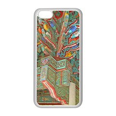 Traditional Korean Painted Paterns Apple Iphone 5c Seamless Case (white) by Onesevenart