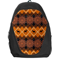 Traditiona  Patterns And African Patterns Backpack Bag by Onesevenart