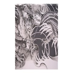 Chinese Dragon Tattoo Shower Curtain 48  X 72  (small)  by Onesevenart
