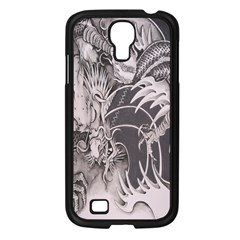 Chinese Dragon Tattoo Samsung Galaxy S4 I9500/ I9505 Case (black) by Onesevenart