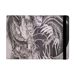 Chinese Dragon Tattoo Ipad Mini 2 Flip Cases by Onesevenart
