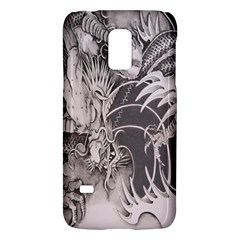 Chinese Dragon Tattoo Galaxy S5 Mini by Onesevenart