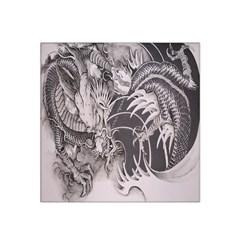 Chinese Dragon Tattoo Satin Bandana Scarf by Onesevenart