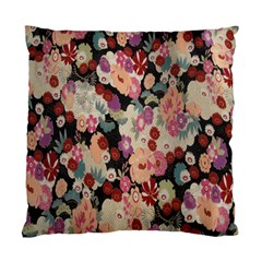 Japanese Ethnic Pattern Standard Cushion Case (two Sides) by Onesevenart