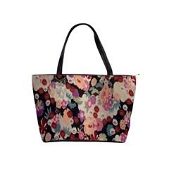 Japanese Ethnic Pattern Shoulder Handbags by Onesevenart