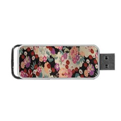 Japanese Ethnic Pattern Portable Usb Flash (two Sides) by Onesevenart
