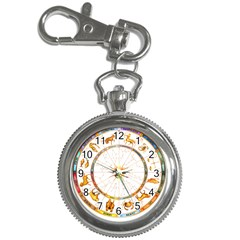 Zodiac  Institute Of Vedic Astrology Key Chain Watches by Onesevenart