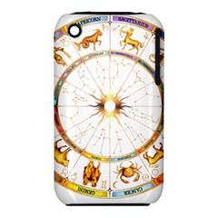 Zodiac  Institute Of Vedic Astrology Iphone 3s/3gs by Onesevenart
