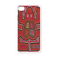 Frog Pattern Apple Iphone 4 Case (white) by Onesevenart