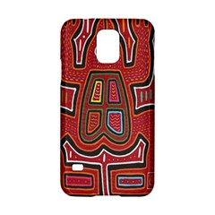 Frog Pattern Samsung Galaxy S5 Hardshell Case  by Onesevenart