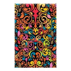 Art Traditional Pattern Shower Curtain 48  X 72  (small)  by Onesevenart