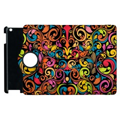 Art Traditional Pattern Apple Ipad 3/4 Flip 360 Case by Onesevenart