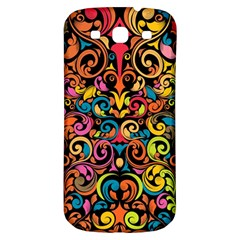 Art Traditional Pattern Samsung Galaxy S3 S Iii Classic Hardshell Back Case by Onesevenart