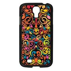 Art Traditional Pattern Samsung Galaxy S4 I9500/ I9505 Case (black) by Onesevenart