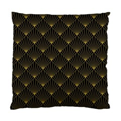 Abstract Stripes Pattern Standard Cushion Case (one Side) by Onesevenart