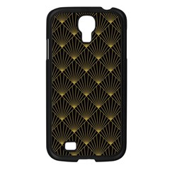 Abstract Stripes Pattern Samsung Galaxy S4 I9500/ I9505 Case (black) by Onesevenart