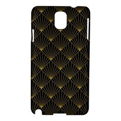 Abstract Stripes Pattern Samsung Galaxy Note 3 N9005 Hardshell Case by Onesevenart