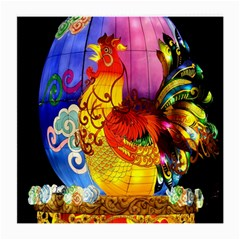Chinese Zodiac Signs Medium Glasses Cloth by Onesevenart