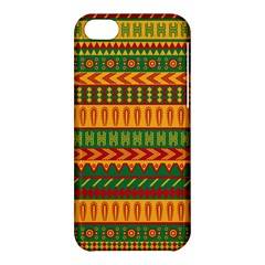 Mexican Pattern Apple Iphone 5c Hardshell Case by Onesevenart
