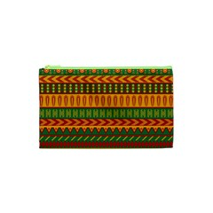 Mexican Pattern Cosmetic Bag (xs) by Onesevenart