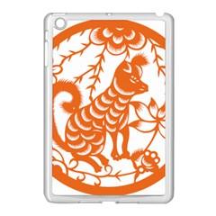 Chinese Zodiac Dog Apple Ipad Mini Case (white) by Onesevenart