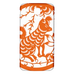 Chinese Zodiac Dog Samsung Galaxy S5 Back Case (white) by Onesevenart