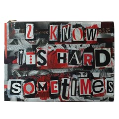Top Lyrics   Twenty One Pilots The Run And Boys Cosmetic Bag (xxl)  by Onesevenart