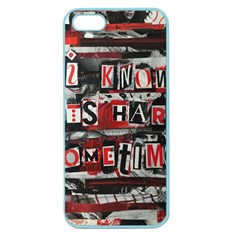 Top Lyrics   Twenty One Pilots The Run And Boys Apple Seamless Iphone 5 Case (color) by Onesevenart