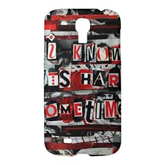 Top Lyrics   Twenty One Pilots The Run And Boys Samsung Galaxy S4 I9500/i9505 Hardshell Case