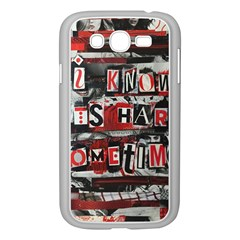 Top Lyrics   Twenty One Pilots The Run And Boys Samsung Galaxy Grand Duos I9082 Case (white) by Onesevenart