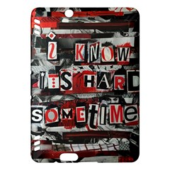 Top Lyrics   Twenty One Pilots The Run And Boys Kindle Fire Hdx Hardshell Case by Onesevenart