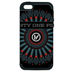 Twenty One Pilots Apple Iphone 5 Hardshell Case (pc+silicone) by Onesevenart