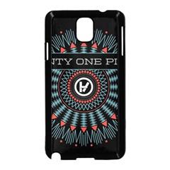 Twenty One Pilots Samsung Galaxy Note 3 Neo Hardshell Case (black) by Onesevenart