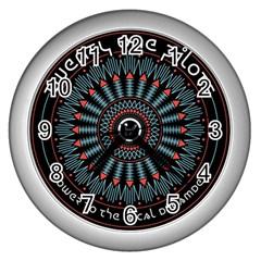 Twenty One Pilots Wall Clocks (silver)  by Onesevenart