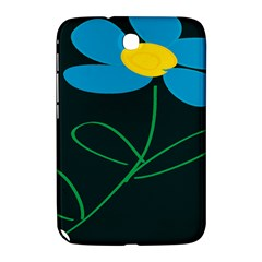 Whimsical Blue Flower Green Sexy Samsung Galaxy Note 8 0 N5100 Hardshell Case  by Mariart